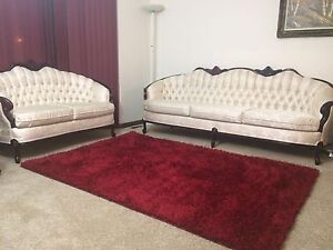 Beautiful Three piece couch set