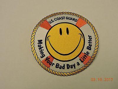 Coast Guard Buoys (US Coast Guard Making Your Bad Day a Little Better Life Buoy USCG Patch #20 )