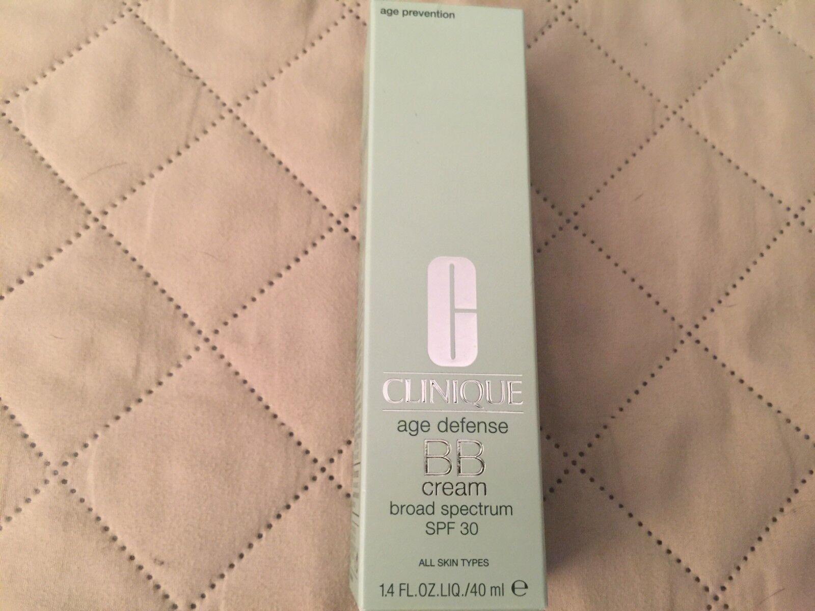 Clinique Age Defense BB Cream SPF 30 Shade 03  1.4 oz BNIB A