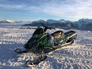 2014 Ski doo Summit X 163""