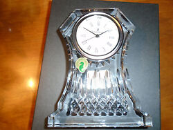 WATERFORD LISMORE LARGE 6.5 CLOCK ~ NEW IN BOX ~ $285 CURRENT WATERFORD RETAIL