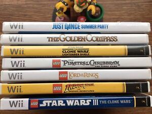 Wii Games Individually Priced