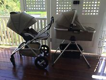 Nuna Ivvi 4 piece pram set with bassinet and bassinet stand Wavell Heights Brisbane North East Preview
