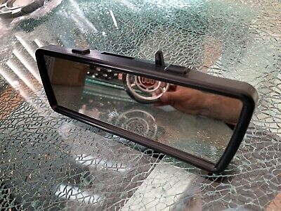 Fiat 600 Rear View Mirror With Light Rare Abarth for sale  Shipping to Canada