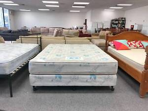 TODAY DELIVERY COMFORTABLE Queen ensemble bed & mattress SALE Belmont Belmont Area Preview