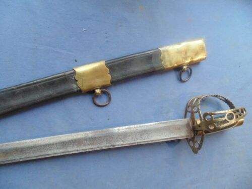RARE SWORD OFFICER UNDER OFF ROI LOUIS XVI  REVOLUTION CONSULAT TIMES 1784/1798