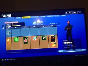 Fortnite Account FOR SALE! XBOX ONE ONLY