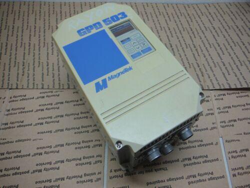 Magnetek AC Drive 3 Phase GPD503 DS315