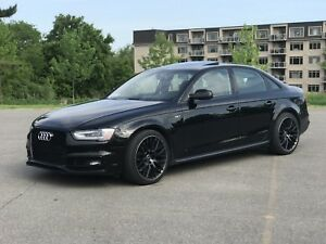 2016 AUDI S4 Quattro Black Optics Stage 3