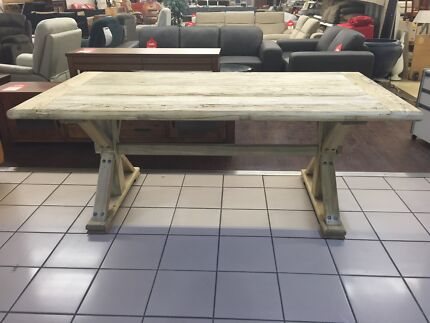 NEW - DINING TABLE 198 (RECLAIMED ELM) Eagleby Logan Area Preview