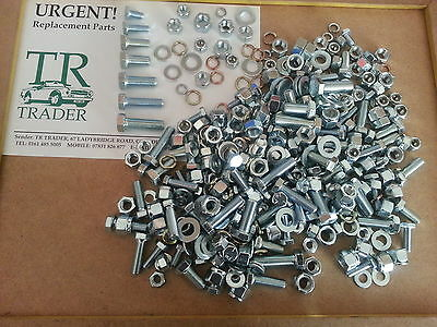 SPITFIRE GT6 HERALD PACK OF NUTS  BOLTS SCREWS WASHERS ALL UNF 400 APPROX