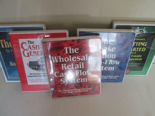 Wholesale Retail & The Lease Option CASH FLOW System RON LEGRAND Cassettes