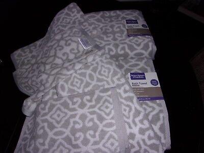 6pc TWO Sets Better Home & Gardens Soft 100% Cotton Towels Set SPA Bath
