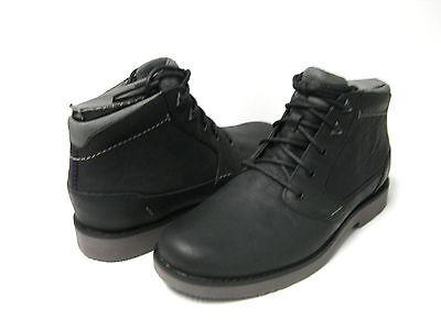 Teva Durban Leather Mens Boots Black US12 /UK11 /EU45.5