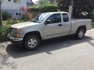 2004 GMC Canyon 4x4 sle