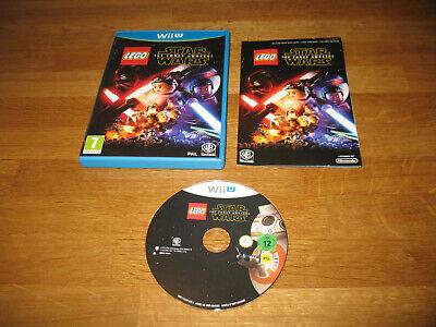 Nintendo Wii U game - Lego Star Wars The Force Awakens (boxed PAL)