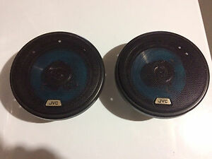 2 JVC car stereo speakers