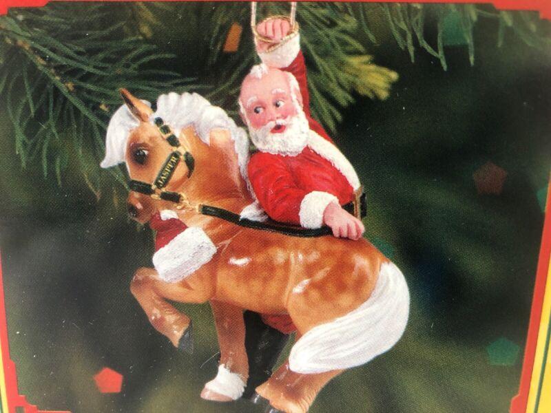 BREYER CHRISTMAS JASPERS HIJINKS 2005 HOLIDAY ORNAMENT #700705  NIB