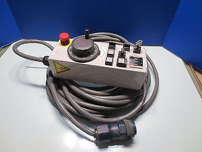 Mori Seiki Sh-50 Cnc Horizontal Mill Fanuc Jog Remote Control Pendant Encoder