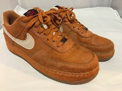 Nike Halloween Air Force One Savage Beast Limited Edition Horse Pony Hair - Halloween Nike Shoes