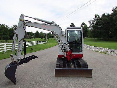 Takeuchi Tb135 Tb035 Mini Excavator Hydraulic Thumb Attachment Pin On Ar400
