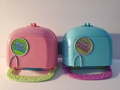 Mattel Pixel Chix Love 2 Shop Mall Pink Purse & Love 2 Shop Boutique Food (Court Mall)