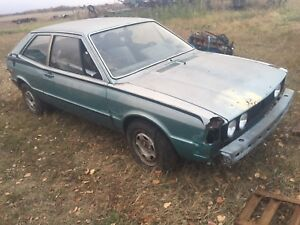 1978 Volkswagen Scirocco parting out