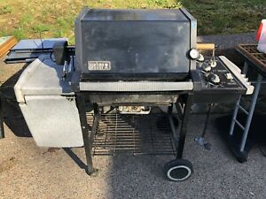 Weber Genesis Silver BBQ with rotisserie