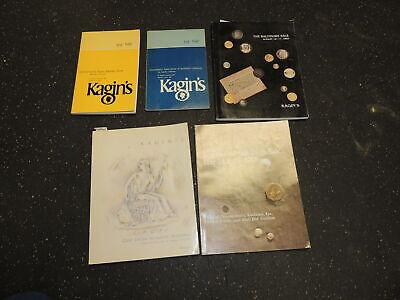 Nice lot of 5 Kagin