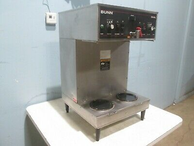 Bunn 3s Mech Sf H.d. Commercial Dual Coffee Brewer Machine W Hot Water Tap