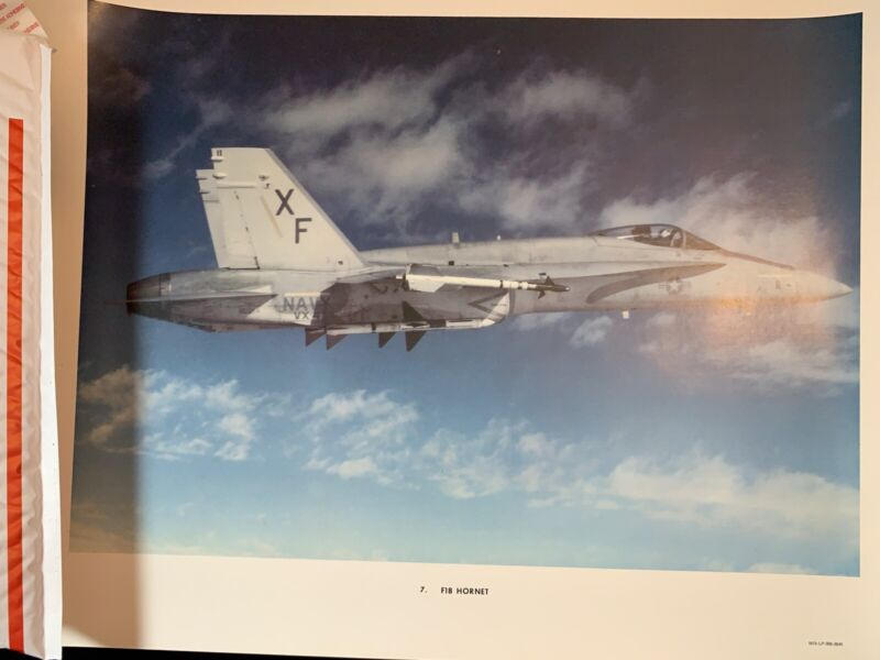 "F-18 Hornet 16"" x 20"" Print"