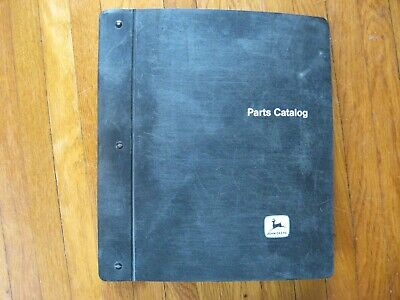 John Deere 3010 Tractor Parts Catalog Black Jd Binder