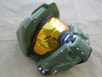 OFFICIAL HALO MASTER CHIEF CHILD FACE MASK HALF HELMET COSTUME ACCESSORY Cosplay - Master Chief Mask