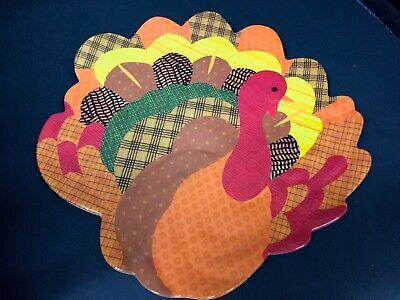 Peanuts Thanksgiving Dinner (Pottery Barn Kids Peanuts THANKSGIVING PLATTER Dinner PLATE Turkey Table)