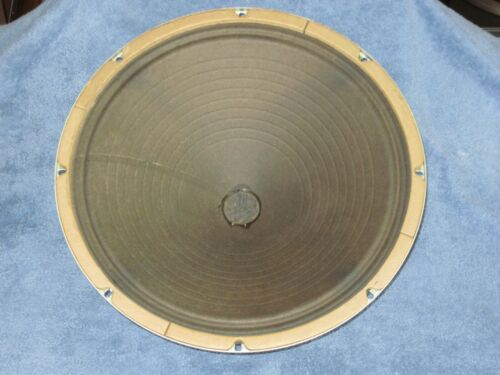 "15"" 583975 AlNiCo WOOFER SPEAKER from Magnavox Console Stereo"