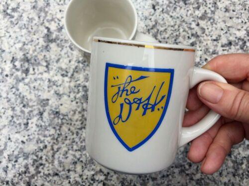 """Two Vintage porcelain  """"D & H"""" Delaware &Hudson Railway mugs"""