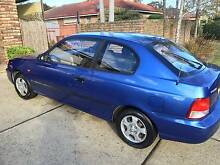 2000 Hyundai Accent Hatchback Glenfield Campbelltown Area Preview