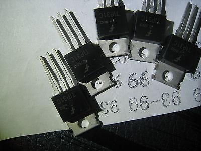 6 X Tip31c Tip31 To-220 Transistor Npn-si 100v 3a