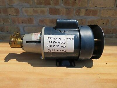 Procon 14 Hp Water Circulator Pump Leeson Motor 115 230 V Single Phase