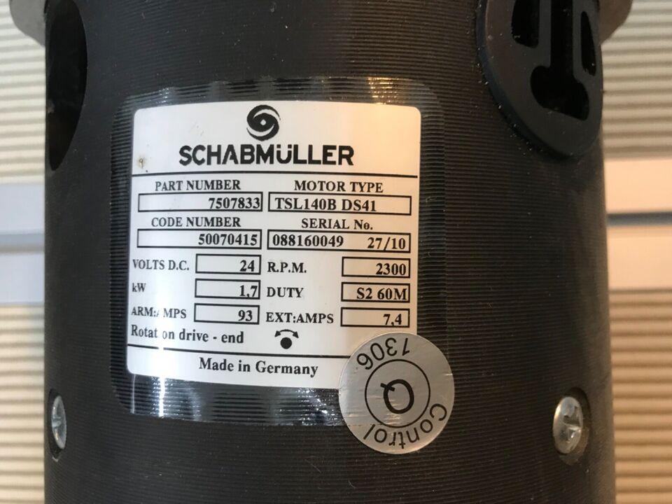 Schabmüller 7507833 Elektromotor Antrieb Type: TSL 140B DS41 in Bocholt