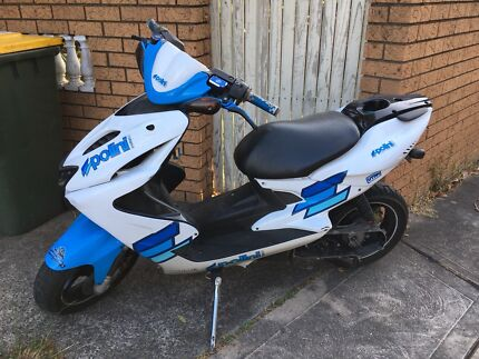 Yamaha Aerox YQ50 scooter, transmission out of order