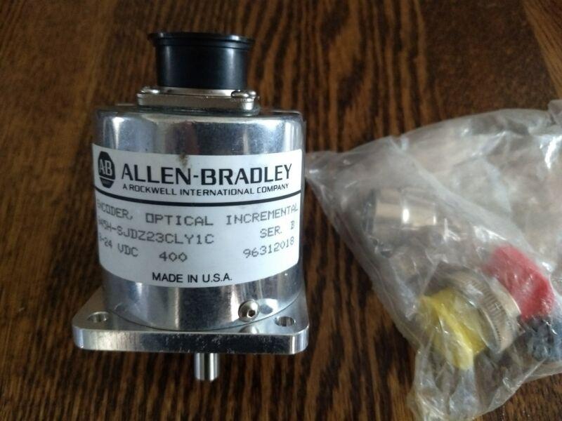 ALLEN-BRADLEY 845H-SJDZ23CLY1C, Ser B OpticalIncremental Encoder (NEW - No box)