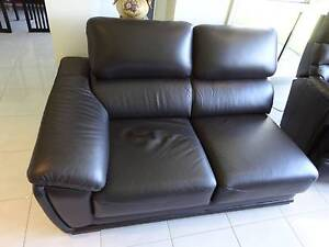 Genuine Italian Made 4 piece Leather Sofa/couch Marsfield Ryde Area Preview