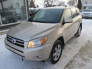 2008 Toyota Rav4 Limited 4 cyl SUV AWD only 155,000k  NOW $10800