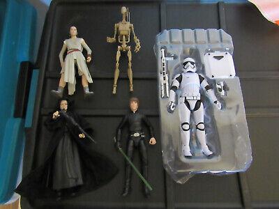 star wars black series lot luke rotj emperor trooper rey figuarts battle droid