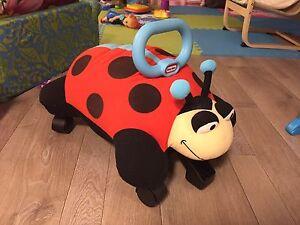 Baby Push Lady Bug