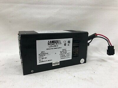 Lambda Electronics Lzs-250-3 Regulated Power Supply