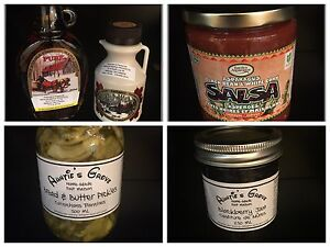 Locally Made Preserves and more!