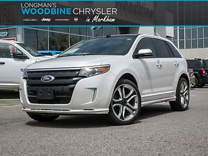 2014 Ford Edge SPORT EDGE-LOW KMS-EVERY OPTION!!!