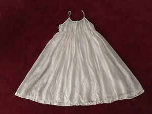 100% silk ivory dress One Mile Ipswich City Preview
